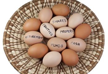 Basket Egg Portfolio Concept