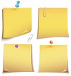 Adhesive memory Notes set