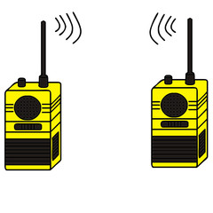 vector drawing of a transceiver