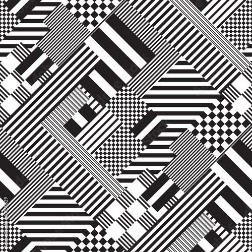 Fototapete schwarz weiß muster  Fototapeten Schwarz -weiß