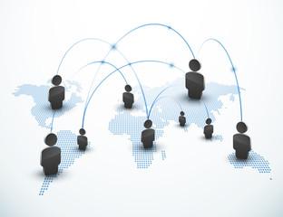 Communication échange internet