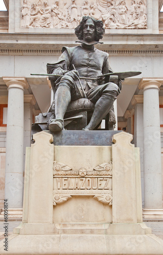Monument to Diego Velazquez (1899). Madrid, Spain