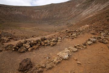 stone in los volcanes lanzarote