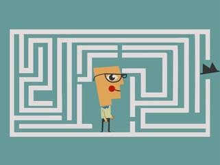 Labyrinth concept - Illustration