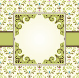 Ornate Damask Frame
