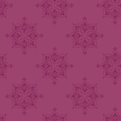 Seamless hand drawn indian rangoli background pattern