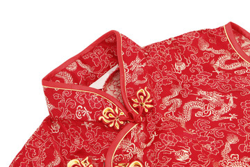 Cheong sam, a traditional Chinese outfit for ladies
