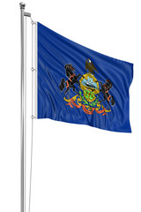 3D Pennsylvania Flag