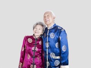 senior chinese couple