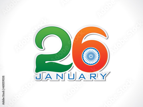 abstract republic day background