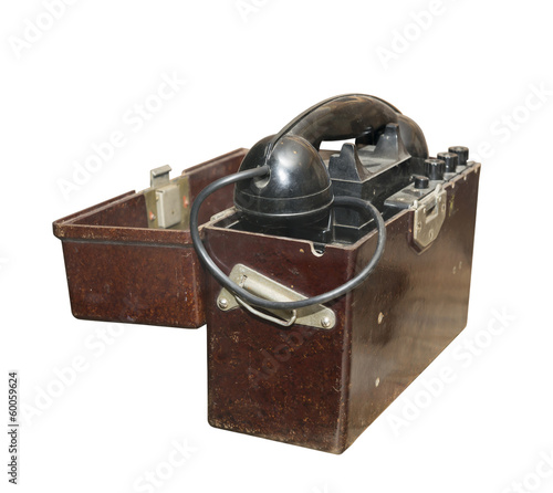 Army field phone 2nd World War
