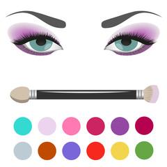 Eyeshadow Palette eye makeup