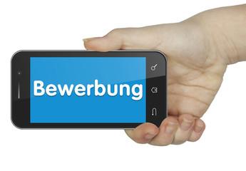 Bewerbung. Mobile