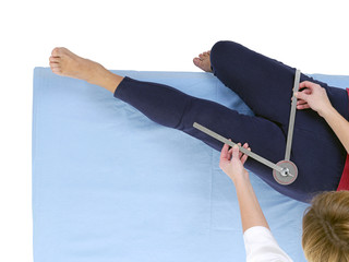 Measurement of hip joint adduction
