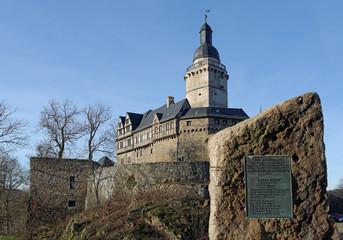 Burg Falkenstein - Sachsenspiegel