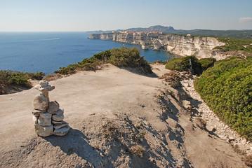 Coastal part of Corsica - Bonifacio