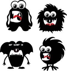 Мультфильм милый монстры