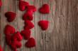 Rote Herzen