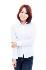 Beautiful young Asian Lady