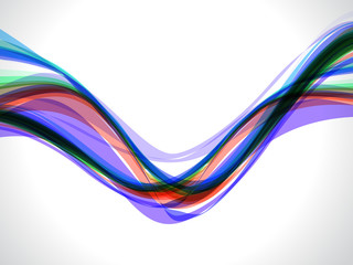 Multy Color Wave Background