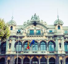 Le port de Barcelone, Espagne