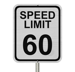 Speed Limit 60 Sign