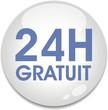 bouton livraison 24 h gratuit