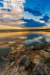 Sunset/sunrise over river