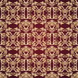 Abstract seamless decorative pattern background