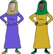 Confident Muslim Woman