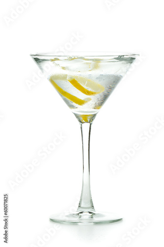 Plexiglas Cocktail vodka martini