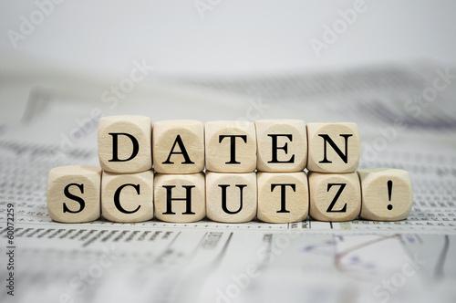 Würfel mit Datenschutz