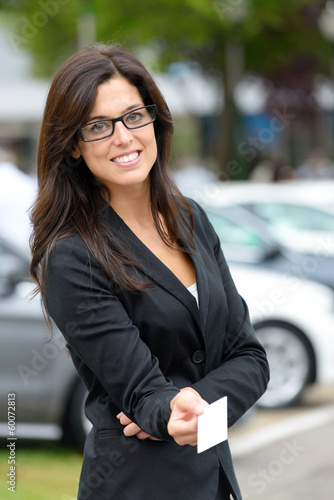 Car rental and sales representative