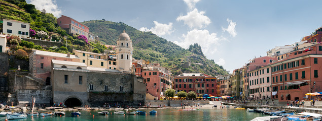 Bay of Vernazza, Italy