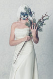 frosty skugarskull bride on day of the dead