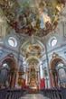 Vienna - Main nave of Baroque church Maria Treu.