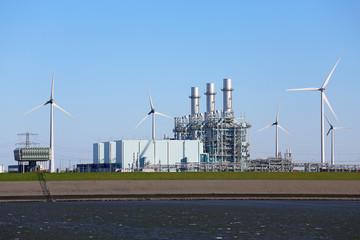 Gaskraftwerk Eemshaven