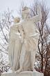 Vienna - Statue of Brutus and Lucretia from Schonbrunn