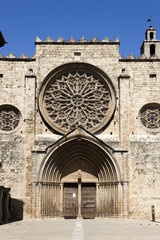 Rose Window of  the Monastery of Sant Cugat