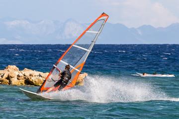 Windsurfing, Chorwacja, Bol