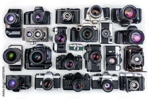 Set of Vintage Film Cameras. - 60078690