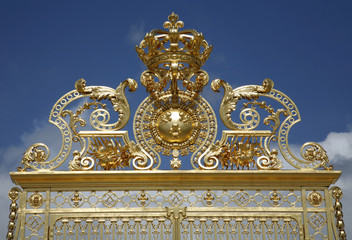 Paris - gate of Versailles palace