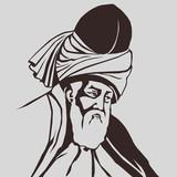 Mevlana  Celaleddin-i  Rumi  ( s b ) poster