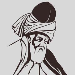Mevlana  Celaleddin-i  Rumi  ( s b )