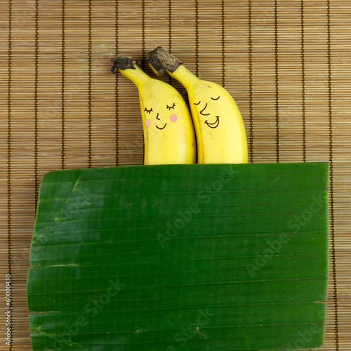 Banana couple