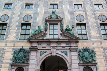 Building in munich city center