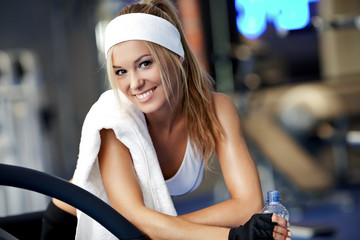 Fitness on a treadmill