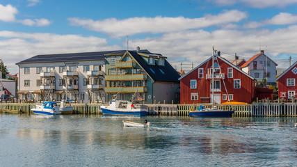 Henningsvaer Lofoten, Dorf am Meer