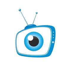Blue TV icon