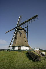 WINDMILL.Molen Het Noorden, Texel, Holland